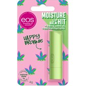 eos - Lèvres - Moisture Hit Lip Balm Happy Brownie