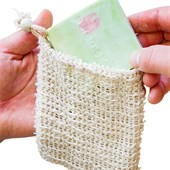puremetics - Accessoires - Jutesäckchen für Naturseifen mit Kordel