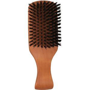 1o1 Barbers - Cura per la barba - Spazzola da barba grande con manico