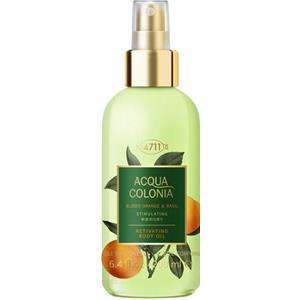 4711 - Acqua Colonia - Body Oil Blood Orange & Basil