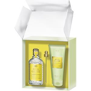 4711 Acqua Colonia Unisexdüfte Lemon & Ginger Geschenkset Eau de Cologne Splash & Spray 170 ml + Aroma Shower Gel 200 ml 1 Stk.