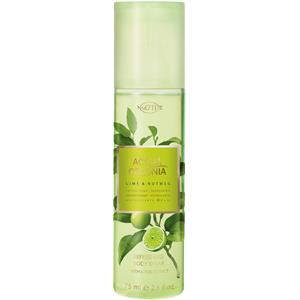 4711 Acqua Colonia Unisexdüfte Lime & Nutmeg Body Spray