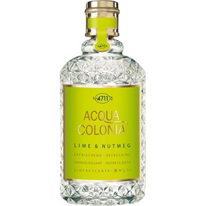 Image of 4711 Acqua Colonia Unisexdüfte Lime & Nutmeg Eau de Cologne Splash & Spray 170 ml