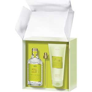 4711 Acqua Colonia Unisexdüfte Lime & Nutmeg Geschenkset Eau de Cologne Splash & Spray 170 ml + Aroma Shower Gel 200 ml 1 Stk.