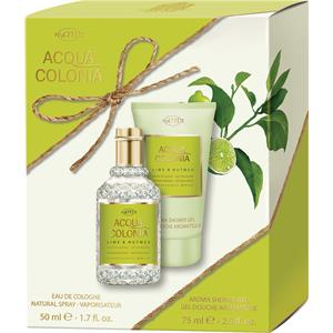 Image of 4711 Acqua Colonia Unisexdüfte Lime & Nutmeg Geschenkset Eau de Cologne Spray 50 ml + Aroma Shower Gel 75 ml 1 Stk.