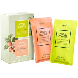 4711 Acqua Colonia - Lime & Nutmeg - Refreshing Aroma Tissues