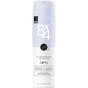 8x4 - Damen - Nr. 01  Pure Aqua Spray 48H Strong Plus