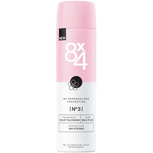 8x4 - Damen - Nr. 03 Velvet Blossom Spray 48H Strong Plus