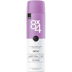 8x4 - Damen - Nr. 04 Vibrant Flower Spray 48H Strong Plus