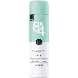 8x4 - Damen - Deodorant Spray Nr. 7 Fresh Lime