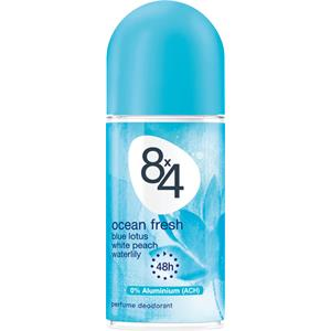 8x4 - Damen - Ocean Fresh Deodorant Roll-On