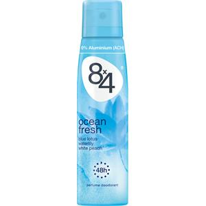 8x4 - Damen - Ocean Fresh Deodorant Spray