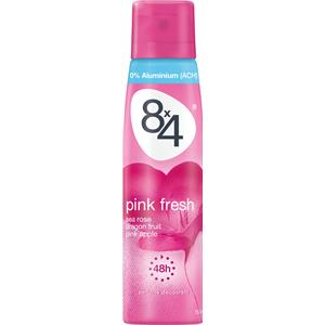 8x4 - Women - Pink Fresh Deodorant Spray
