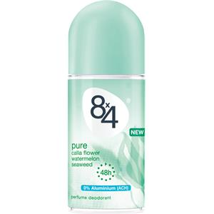 8x4 - Damen - Pure Deodorant Roll-On