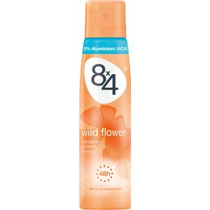 8x4 - Damen - Wild Flower Deodorant Spray