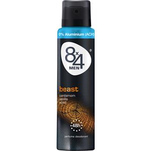 8x4 - Heren - Men Beast Deodorant Spray