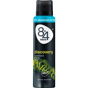 8x4 - Herren - Men Discovery Deodorant Spray