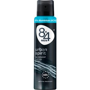 8x4 - Herren - Men Urban Spirit Deodorant Spray