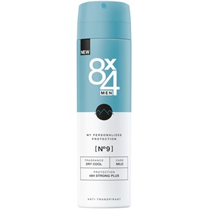 8x4 - Herren - Nr. 09 Dry Cool Spray 48H Strong Plus