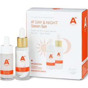 A4 Cosmetics - Gesichtspflege - A4 Day & Night Seren Set