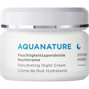 ANNEMARIE BÖRLIND - AQUANATURE - Moisturising Night Cream