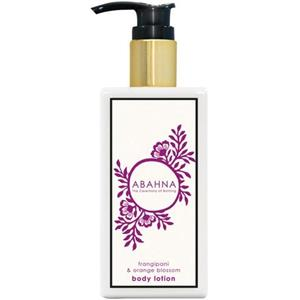 Abahna - Frangipani & Orange Blossom - Body Lotion