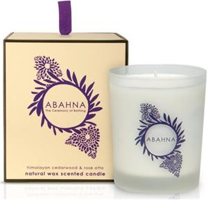 Abahna - Himalayan Cedarwood & Rose Otto - Scented Candle