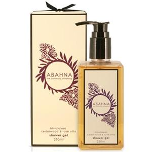 Abahna - Himalayan Cedarwood & Rose Otto - Shower Gel
