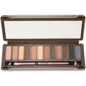 Absolute New York - Øjne - Icon Eyeshadow Palette Noir Garden