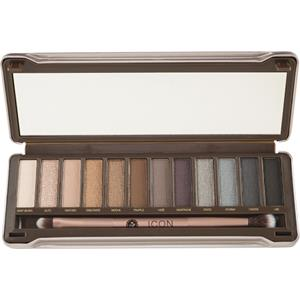 Absolute New York - Augen - Icon Eyeshadow Palette Smoked