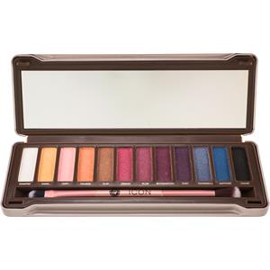 Absolute New York - Augen - Icon Eyeshadow Palette Twilight