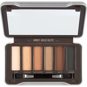 Absolute New York - Eyes - Icon Mini Eyeshadow Palette Gold Glitz