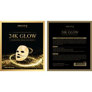 Absolute New York - Gesichtspflege - 24K Glow Gold Gel Mask