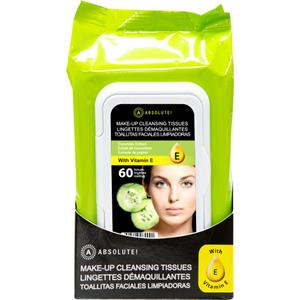 Absolute New York - Ansigtspleje - Make-up Cleansing Tissues Cucumber