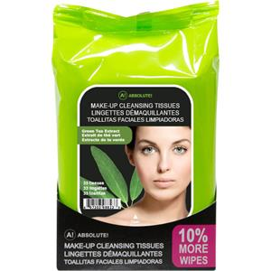 Absolute New York - Soin du visage - Make-up Cleansing Tissues Green Tea