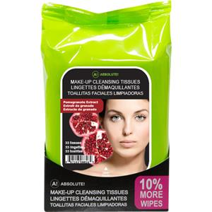 Absolute New York - Facial care - Make-up Cleansing Tissues Pomegranate