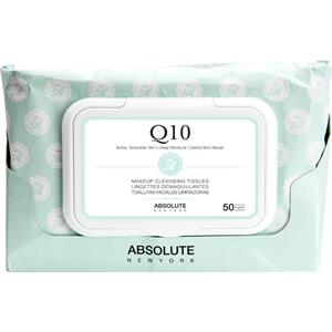 Absolute New York - Soin du visage - Make-up Cleansing Tissues Q10