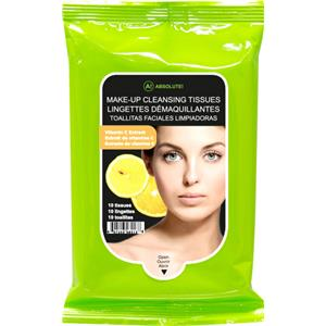 Absolute New York - Gezichtsverzorging - Make-up Cleansing Tissues Vitamin C