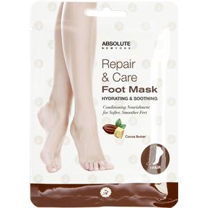 Absolute New York - Körperpflege - Repair & Care Foot Mask Cocoa Butter