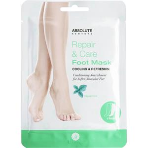 Absolute New York - Körperpflege - Repair & Care Foot Mask Peppermint