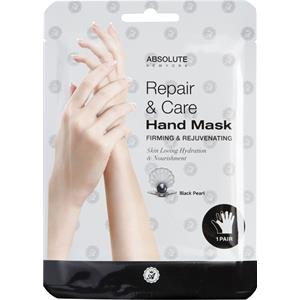 Absolute New York - Kroppsvård - Repair & Care Hand Mask Black Pearl