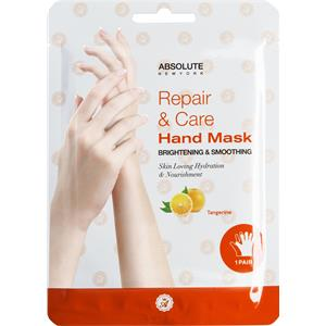 Absolute New York - Kropspleje - Repair & Care Hand Mask Tangerine