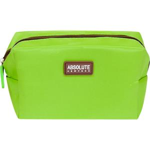 Absolute New York - Sminkväskor - Green Microfiber Cosmetic Bag