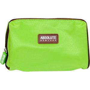 Absolute New York - Borse per cosmetici - Green Microfiber Cosmetic Bag
