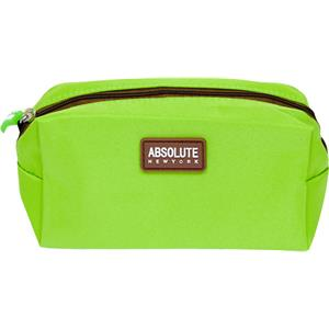 Absolute New York - Make-uptasjes - Green Microfiber Cosmetic Bag
