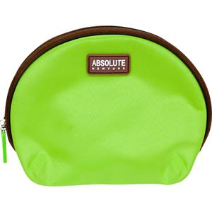 Absolute New York - Bolsas de cosmética - Green Microfiber Cosmetic Bag