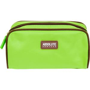 Absolute New York - Wash bags - Green Microfiber Cosmetic Bag