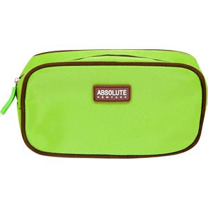 Absolute New York - Kosmetiikkalaukut - Green Microfiber Cosmetic Bag