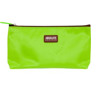 Absolute New York - Neceseres para cosméticos - Green Microfiber Cosmetic Bag