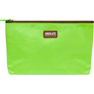 Absolute New York - Trousses à maquillage - Green Microfiber Cosmetic Bag